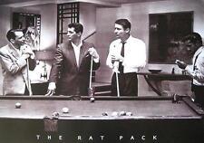 RAT PACK POSTER POOL BILLARD FRANK SINATRA DEAN MARTIN SAMMY DAVIS JR.