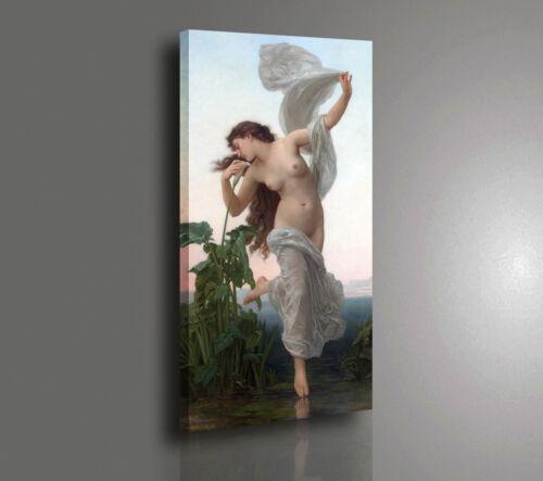 Quadro Bouguereau L/'Aurora L/'AURORE Stampa su TELA Vernice Effetto Pennellate