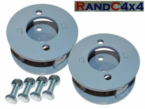 "Land Rover Defender /& Discovery Front Spring Spacer Block Kit 50mm 2/"" Lift"
