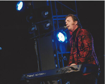 Humble Jonathan Cain Journey Guitarist Hand Signed Authentic 8x10 Photo 3 W/coa Proof Buy One Get One Free Music