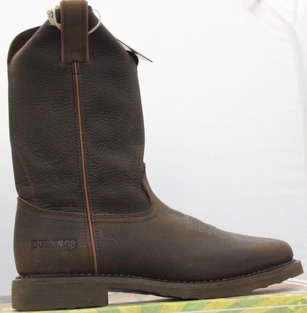 Durango Hombre 11  Vaquero Desgastado Granja Ranch botas Marrón Tostado Db004