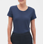 Banana-Republic-Women-039-s-Timeless-Short-Sleeve-Crew-Neck-Premium-Wash-Tee-T-Shirt thumbnail 17