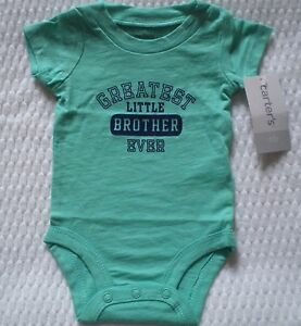 df2d447fe Image is loading NWT-CARTERS-GREATEST-LITTLE-BROTHER-SHIRT-TOP-BODYSUIT-