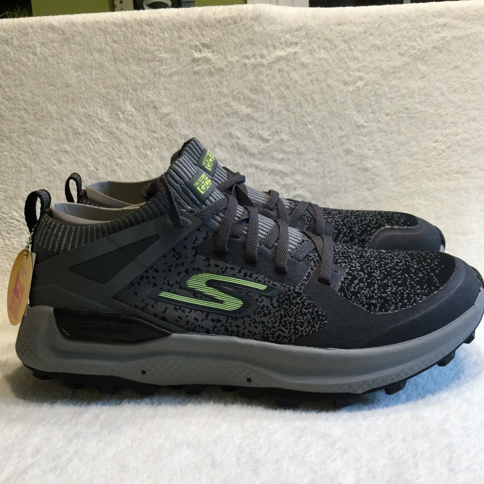 Skechers gorun Max Trail MaxTrail 5 Ultra 55207 CCLM Running zapatos gris 10.5