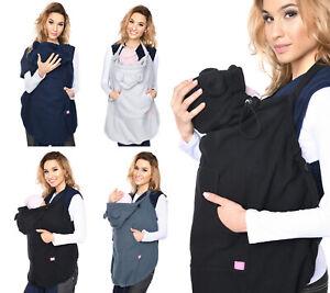 Navy blue Mija Maternity fleece warm Baby Universal Windproof Carrier Cover 4022