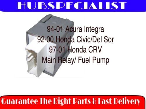 Fits CRV 97-01 MAIN-RELAY ACURA INTEGRA 94-01 HONDA CIVIC-DEL SOL 92-00