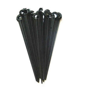 50pcs new drip Irrigation Plastic stake spike 10cm long for 1/4'' hose