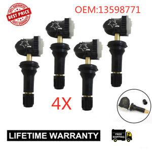 4x-ACDelco-13598771-13598772-Fit-GM-Original-Equipment-Tire-Pressure-Sensor-TPMS