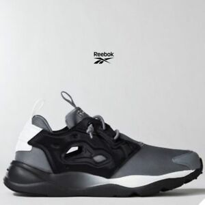 Image is loading Reebok-Furylite-Clean-Running-Shoes-Sneakers-BD1438-Gray- 681c4e5c5