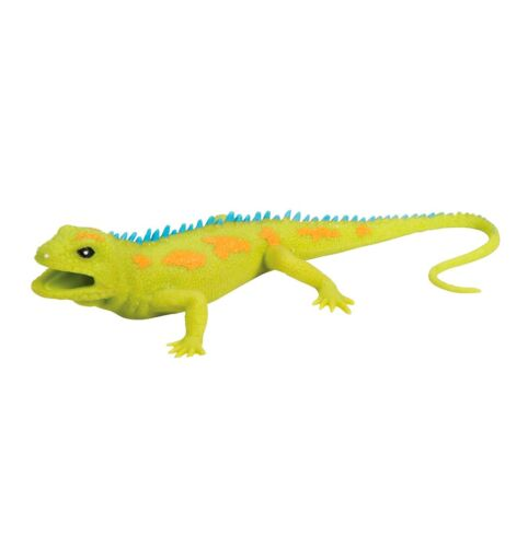 Green Lizard Squishimal Squishy Stretchy Squeeze Tactile Sensory Fidget Ball