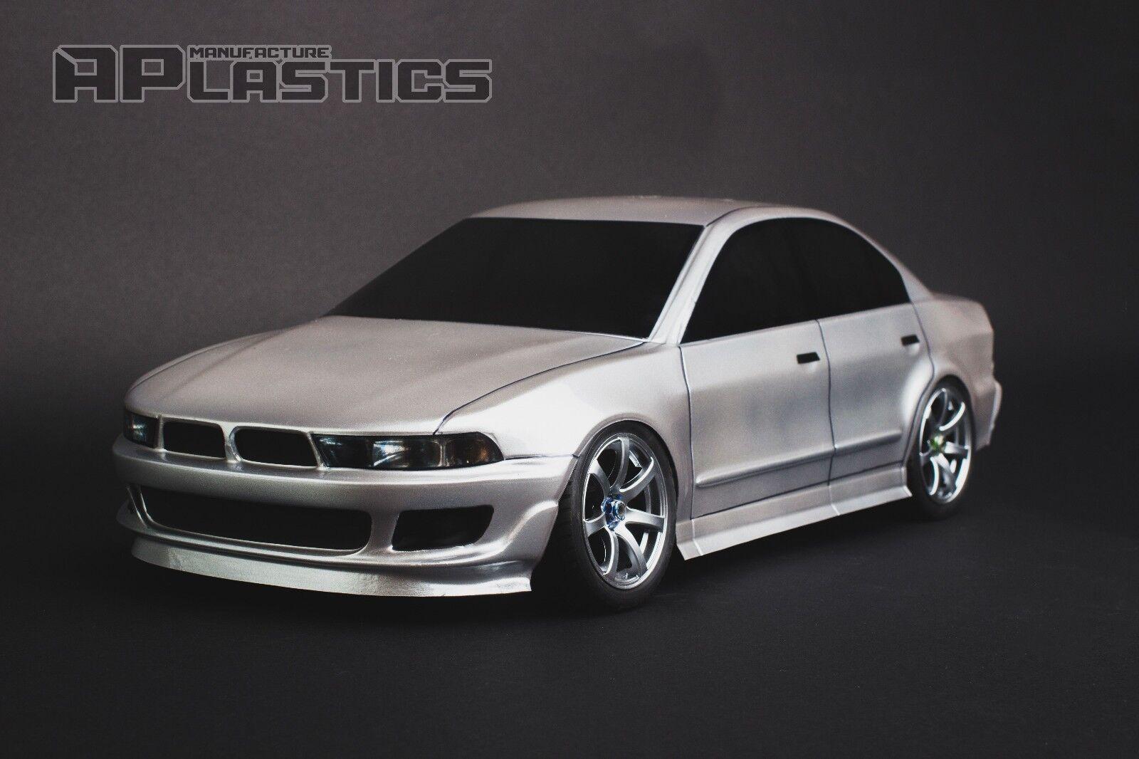RC Body Car Drift Touring 1 10 Mitsubishi Galant VR 4 style APlastics New Shell