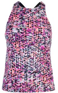 Nike Tankini pink bunt Cross Strap Mädchen * REF 129 *