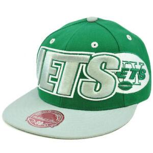 93b746f44 NFL Mitchell Ness Throwback Logo Retro Wordmark Fit Cap Hat TT48 New ...
