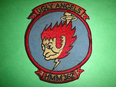 USMC Marine Helicopter Transport Sq HMM-362 UGLY ANGELS Patch In South Vietnam