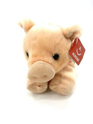 "Aurora Percy PIG 8/"" Flopsie Plush Peach Piglet Stuffed Animal NEW"
