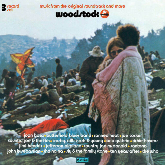 Various Artists Woodstock 2019 RSD Mono 3 X Vinyl LP Limited Edition New Sealed