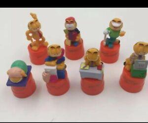 Garfield Pepsi Miranda Bottle Cap Working 7 days a week mini figure set