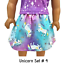 "Unicorn Top /& Skirt 18/"" Doll Clothes fits American Girl dolls"