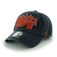 Detroit Tigers 47 Brand Clean Up Hat Snap Back