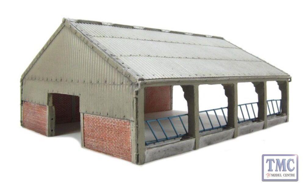 44-108 Bachmann Scenecraft OO HO Gauge Modern Barn