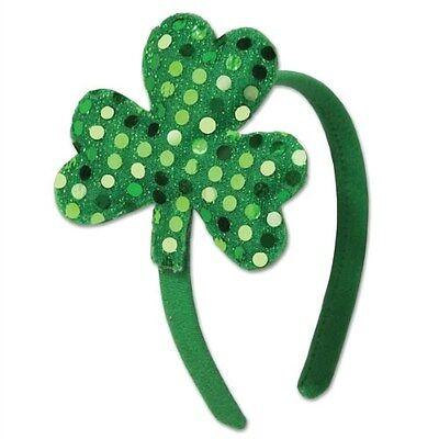 St Patrick's Shamrock Headband (B30777)