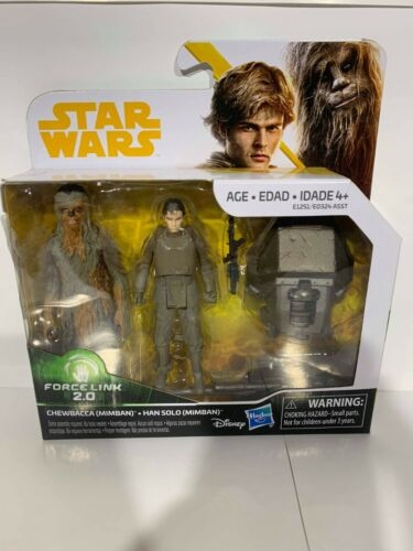mimban STAR Wars-Solo-Chewbecca e Han Solo