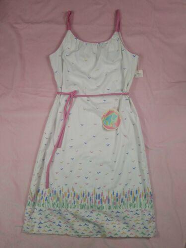 NWT 70s VESTED GENTRESS floral bird midi dress 16
