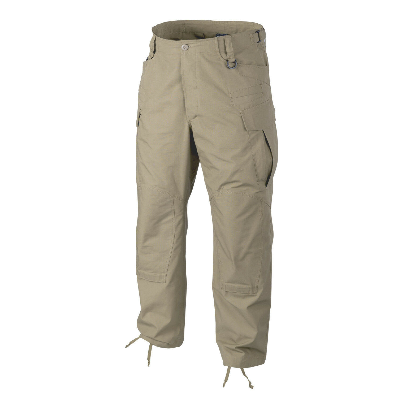 HELIKON TEX SFUNEXT Cotton Ripstop Combat Outdoor Hose Khaki LR Large Regular  | Qualität Produkt