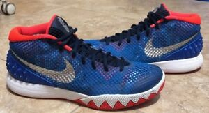 672a357ef0e7 NIKE KYRIE 1 USA INDEPENDENCE DAY RED WHITE BLUE 705277 401 SZ 9.5 ...