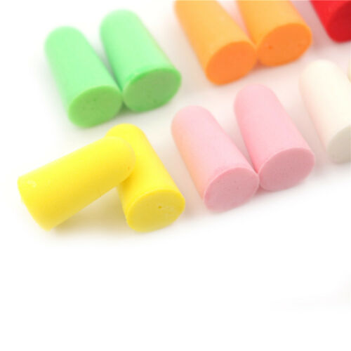 20pcs PU Foam Ear Plugs Anti Noise Snore Earplugs Comfortable For Study Sleep SU