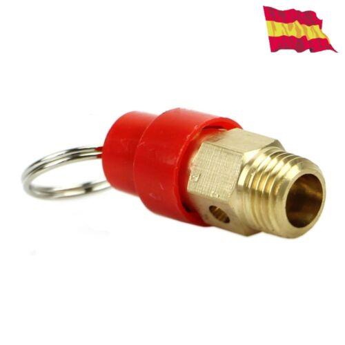 """Compresor De Aire Válvula 1//4/"""" BSP alivio de seguridad 7kg regulador 0.7Mpa 20"""