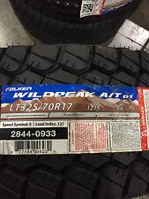 4 New LT 325 70 17 Falken Wildpeak A/T-01 8 Ply 35x12.50r17 Tires