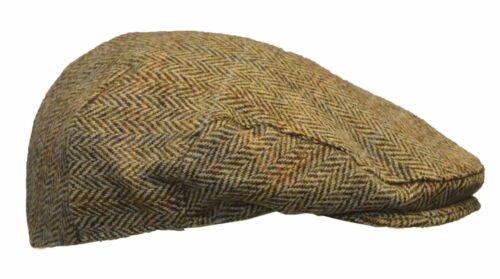 Walker /& Hawkes Harris Tweed SCOTTISH Flat Cap 100/% Wool Country Hat S-2XL