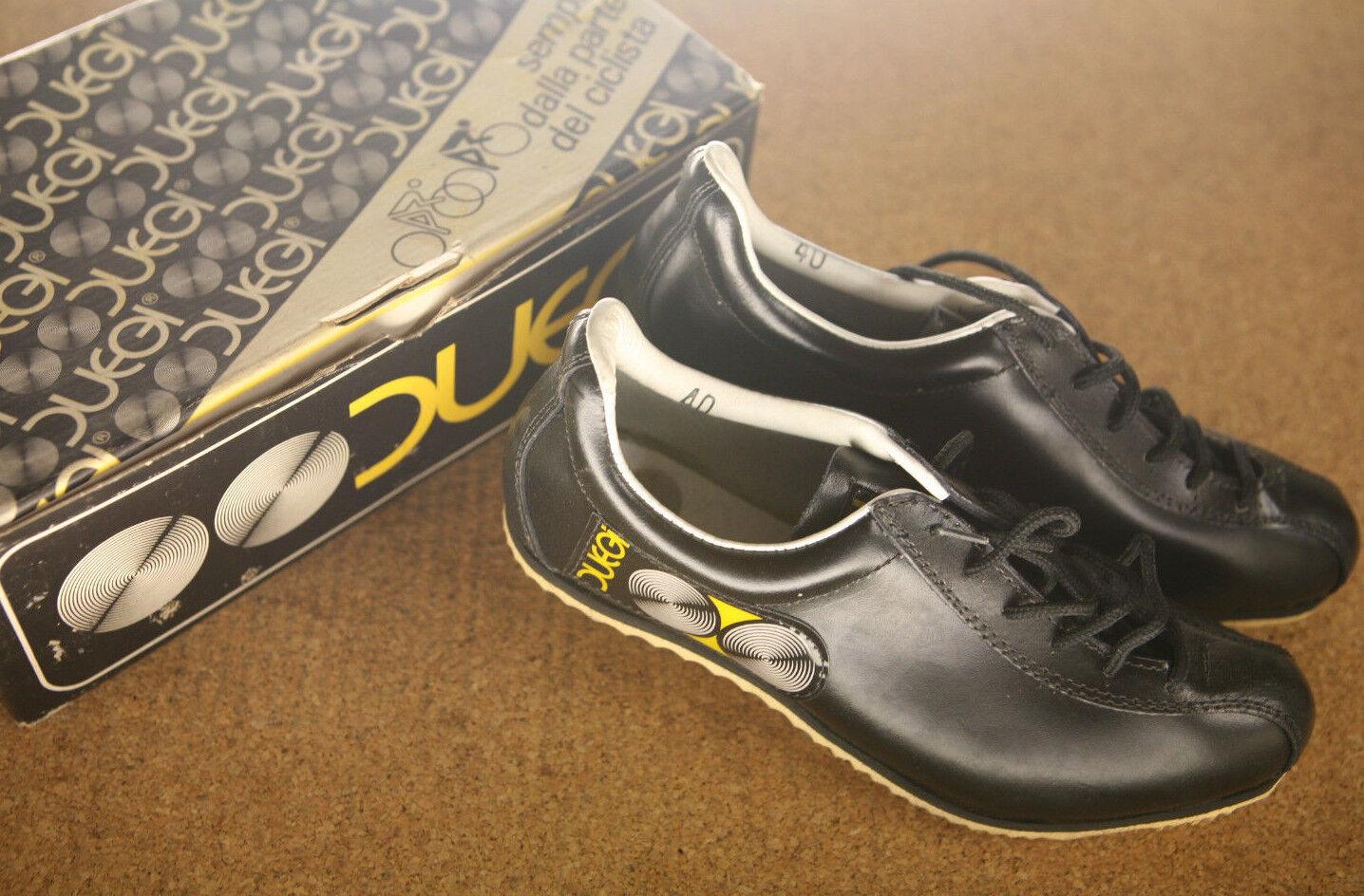 Vintage NOS NEW NIB Italian Duegi Cyclo Cross cycling shoes