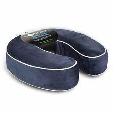 worlds best cushionsoft memory foam neck pillow navy new - Memory Foam Neck Pillow
