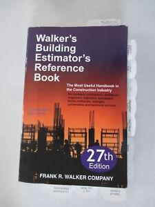 Building Estimator Reference Book