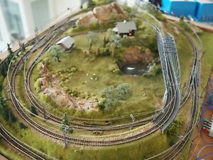 Highly-detailed-Marklin-Z-scale-Track-Layout-with-electric-switches-catenary