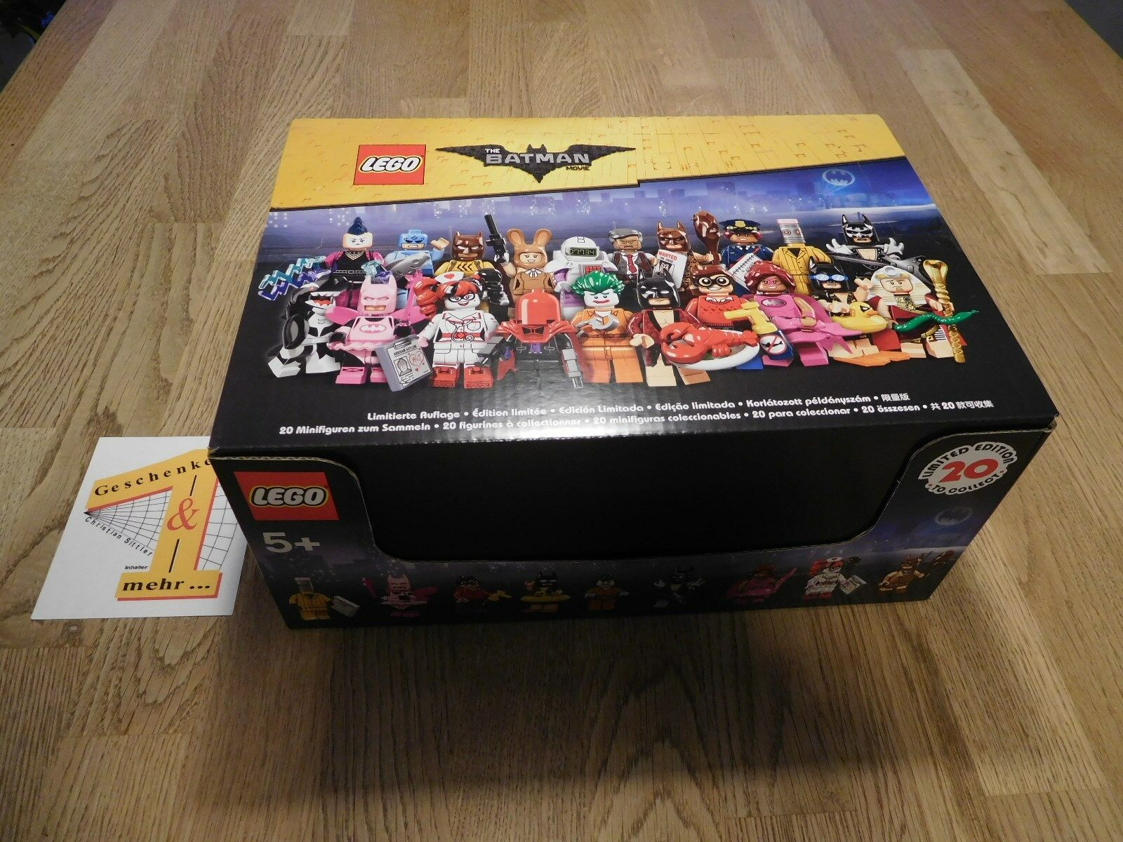 EUR 3,99/Pezzo   Batman Movie  - Display 60 pezzi LEGO ® STATUINE N. 71017