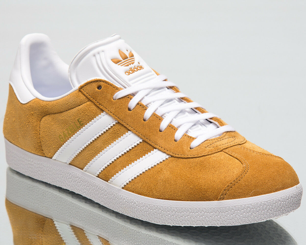 Adidas Originals Gazelle Men New Mesa White Brown Lifestyle Sneakers B41653