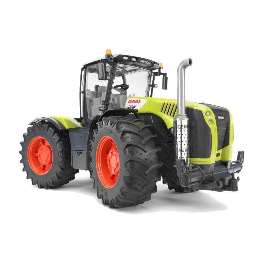 New Bruder Toys Claas Xerion 5000 1 16 Scale Farm Tractor - Bruder 03015