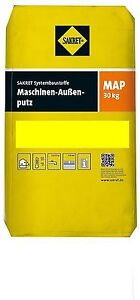 30kg sakret maschinen aussenputz map kalk zement putz kalkzementputz unterputz ebay. Black Bedroom Furniture Sets. Home Design Ideas