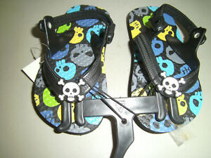 NEW BABY BOYS FLIP FLOPS SHOES SIZE 5-6 SOLE LENGTH 5 1/2 ...