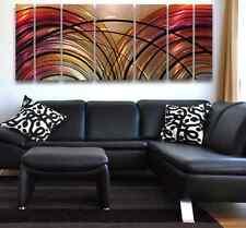 Modern Abstract Metal Wall Art Painting Sculpture HUGE!