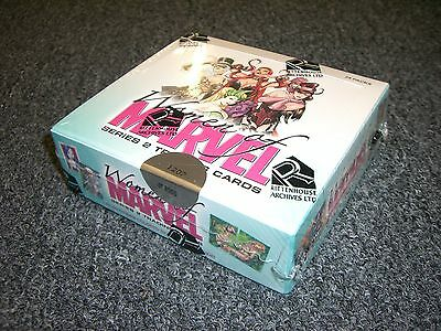 2013 Women of Marvel Series 2 - Sealed Box with Colored Sketch or Puzzle Card