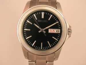 Seiko Mens watches stainless steel  SJW063P