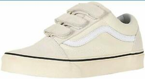 51600ea714364 Details about Vans Unisex Adults' Old Skool V Trainers Black  Marshmallow/Turtledove MENS 8.5