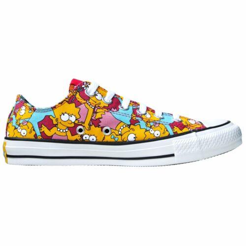 5 Simpsons All limitata Chucks Schwarz 5 Eu Converse Star Ox Edizione 38 Lisa Uk 60CxZq