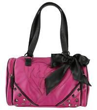 METAL MULISHA No Class Faux Leather Womens Pink Handbag NEW