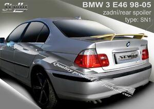 b1db9ca58399 Image is loading SPOILER-REAR-BOOT-TRUNK-TAILGATE-BMW-E46-sedan-