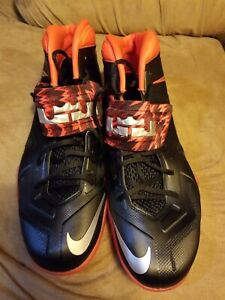 free shipping 411d8 66438 Details about Nike Zoom Soldier VII PP Lebron James Men BasketBall Shoes  Size 13 clean